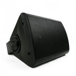 Altavoz de pared de 20W y 244x185x163mm negro orientable