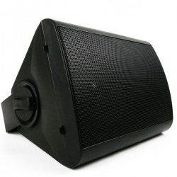 Altavoz de pared de 40W y 298x218x190mm negro orientable