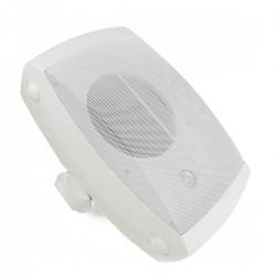 Altavoz de pared 40W de 350x220x210mm exterior blanco orientable