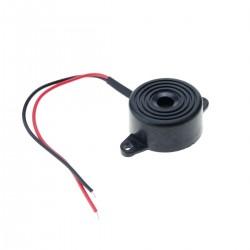 Zumbador piezo cerámico con sonido continuo 12VDC