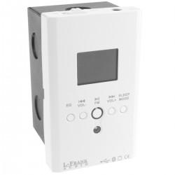 Amplificador de audio empotrable 15W reproductor MP3 y wav Bluetooth SD USB Radio FM