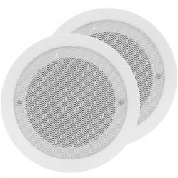 Altavoces Bluetooth con amplificador para instalar en el techo 20W x2