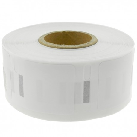 Rollo bobina de 750 etiquetas adhesivas compatibles con Dymo S0929120 25x25mm