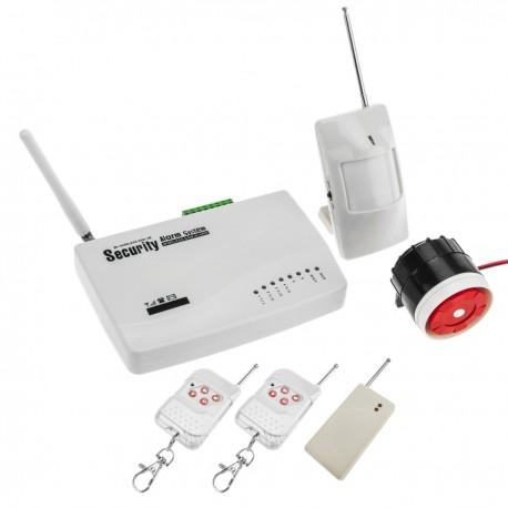 Alarma de seguridad para GSM de 3 bandas 10 zonas