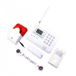 Alarma para GSM de 2 bandas con teclado