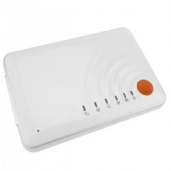 Alarma para GSM compacta con sensores inalámbricos y pulsador de emergencia modelo SS608