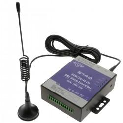 Control remoto por GSM 3G 4G LTE de 4 entradas y 2 salidas digitales