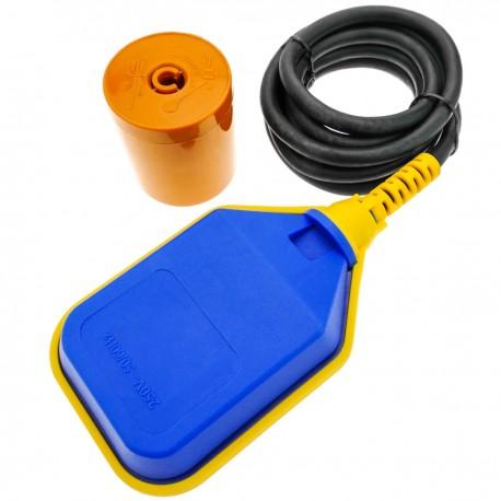 Interruptor de flotador controlador de nivel de agua con cable 2m