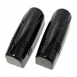 Barrera de infrarrojos para alarma compacta de 3 rayos para distancia de 50m a 100m