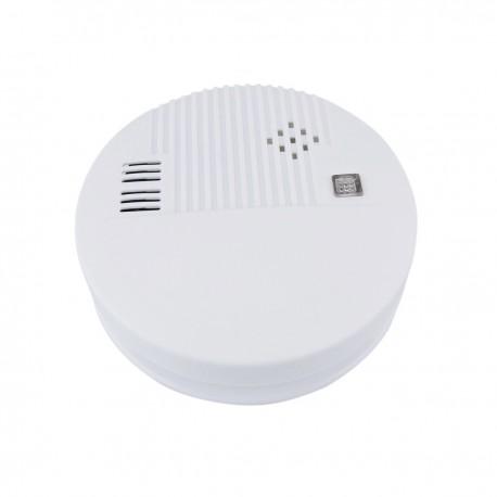 Detector de humo autónomo con indicador LED y alarma