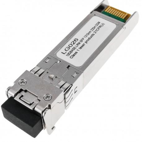 Módulo GBIC SFP+ MMF 10 Gbps fibra óptica multimodo duplex LC 1310nm 220m