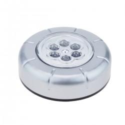 Luz adhesiva portátil con 6 LED de alto brillo