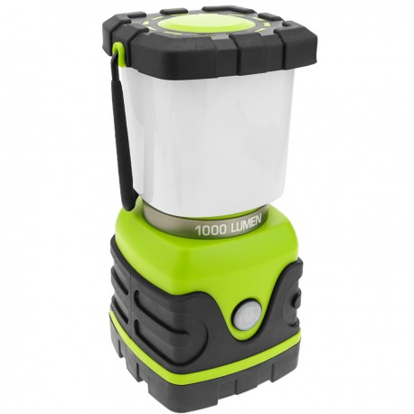Linterna de camping LED 10W con colgador y PowerBank 4000 mAh