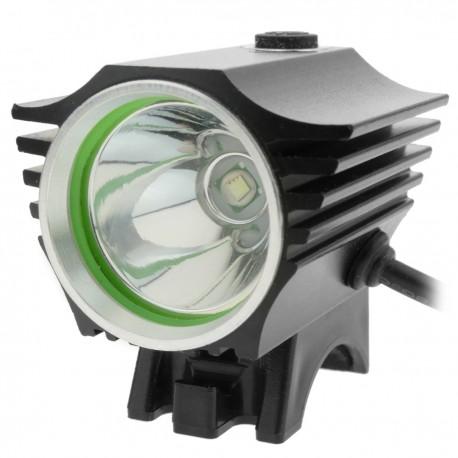 Luz LED frontal para cabeza y bicicleta con batería de 8000 mAh 1000 lúmenes 1 x T6 XLamp