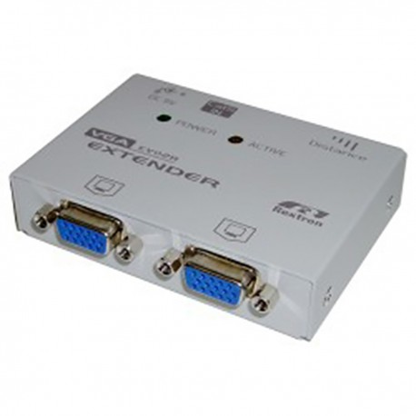 Rextron VGA Extender 2 VGA-OUT + 1 RJ45-IN (EV-02R)