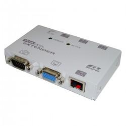 Rextron VGA Extender 1 VGA-IN + 1 VGA-OUT + 4 RJ45-OUT (EV-114L)