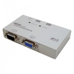 Rextron VGA Extender 1 VGA-IN + 1 VGA-OUT + 2 RJ45-OUT (EV-112L)