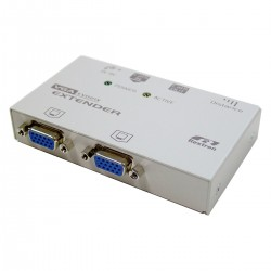 Rextron VGA Extender 1 RJ45-IN + 2 VGA-OUT + 1 RJ45-OUT (EV-021X)