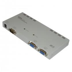 Rextron VGA Extender 1 VGA-IN + 2 VGA-OUT + 8 RJ45-OUT (EV-128L)