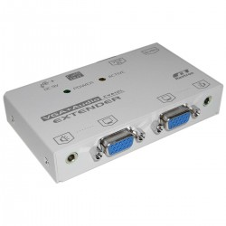 Rextron AV Extender 1 VGA-IN + 2 VGA-OUT + 1 RJ45-OUT (EVA-12L)