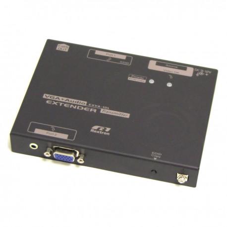 Extensor de VGA y audio a través de UTP a 900m. Transmisor 1 puerto