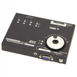 Extensor de VGA y audio a través de UTP a 900m. Transmisor 4 puertos