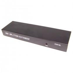 Extensor DYLINK de VGA y audio por UTP Cat.5 LOCAL 8 puertos