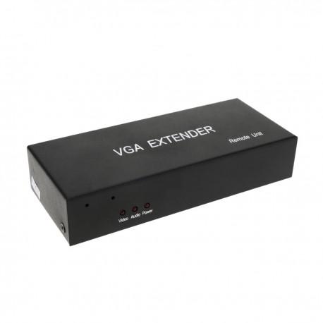 Extensor DYLINK de VGA y audio por UTP Cat.5 REMOTO de 300m