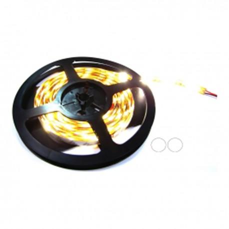 Tira de LEDs flexible 13 lm/led 30 led/m de 5m IP44 blanco calido