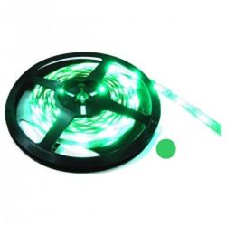Tira de LEDs flexible 6.5 lm/led 30 led/m de 5m verde