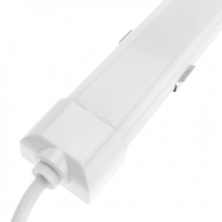 Lámpara LED luz fría regleta 120 cm