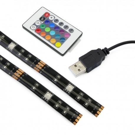 Luz de ambiente LED RGB para iluminación posterior de la TV