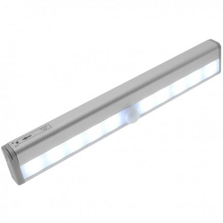 Luz LED con sensor de movimiento y luz por inducción para puertas de armarios