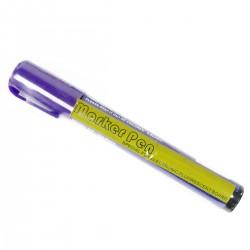 Rotulador fino para pizarra LED de DisplayMatic de color púrpura