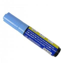 Rotulador grueso para pizarra LED de DisplayMatic de color azul