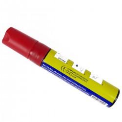Rotulador super grueso pizarra LED DisplayMatic de color rojo