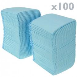 100 empapadores absorbentes de 33 x 45 cm. Toallas de entrenamiento para perros cachorros