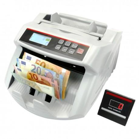 Contador de billetes con detector de billetes falsos UV MG1 MG2