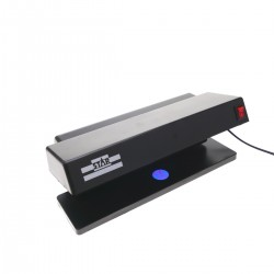 Detector de billetes falsos UV con 2 tubos de 6W 280x122x110mm