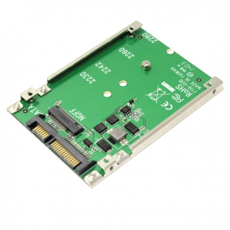 Adaptador SATA a disco duro SSD NGFF M.2 de un puerto