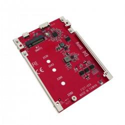 Adaptador USB3.1 Micro USB-B a disco duro SSD NGFF M.2