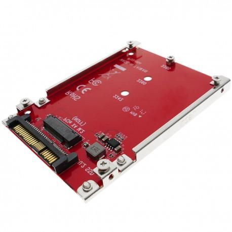 "Adaptador conversor SSD M.2 NGFF a disco U.2 SSD 2.5"" SFF-8639"