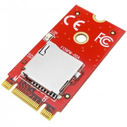 Módulo Fast PCIe M.2 NGFF (clave B-M) a Micro SD 3.0