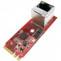 Módulo Fast PCIe M.2 NGFF (clave A-E) a GigaLAN 1000Base-T Ethernet