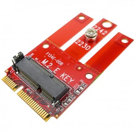 Módulo Fast mini PCIe a Fast PCIe M.2 NGFF con Wi-Fi y Bluetooth