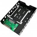 """Adaptador de disco duro 2.5"""" a 3.5"""" para U.2 NVMe SAS SATA SSD HDD"""
