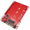 "Adaptador de disco M.2 NVMe SSD a U.2 2.5"" NVMe SFF-8639 SSD"
