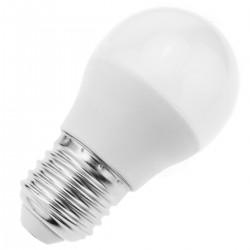 Bombilla LED G45 E27 230VAC 5W luz cálida