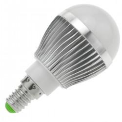 Bombilla LED G45 E14 230VAC 3W luz día