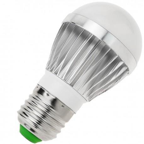 Bombilla LED G45 E27 230VAC 3W luz fría